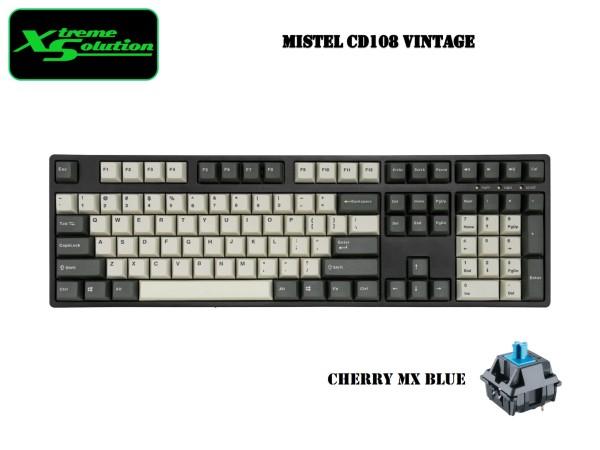 IKBC Typeman CD108 / CD87 Vintage Wired Mechanical Keyboard