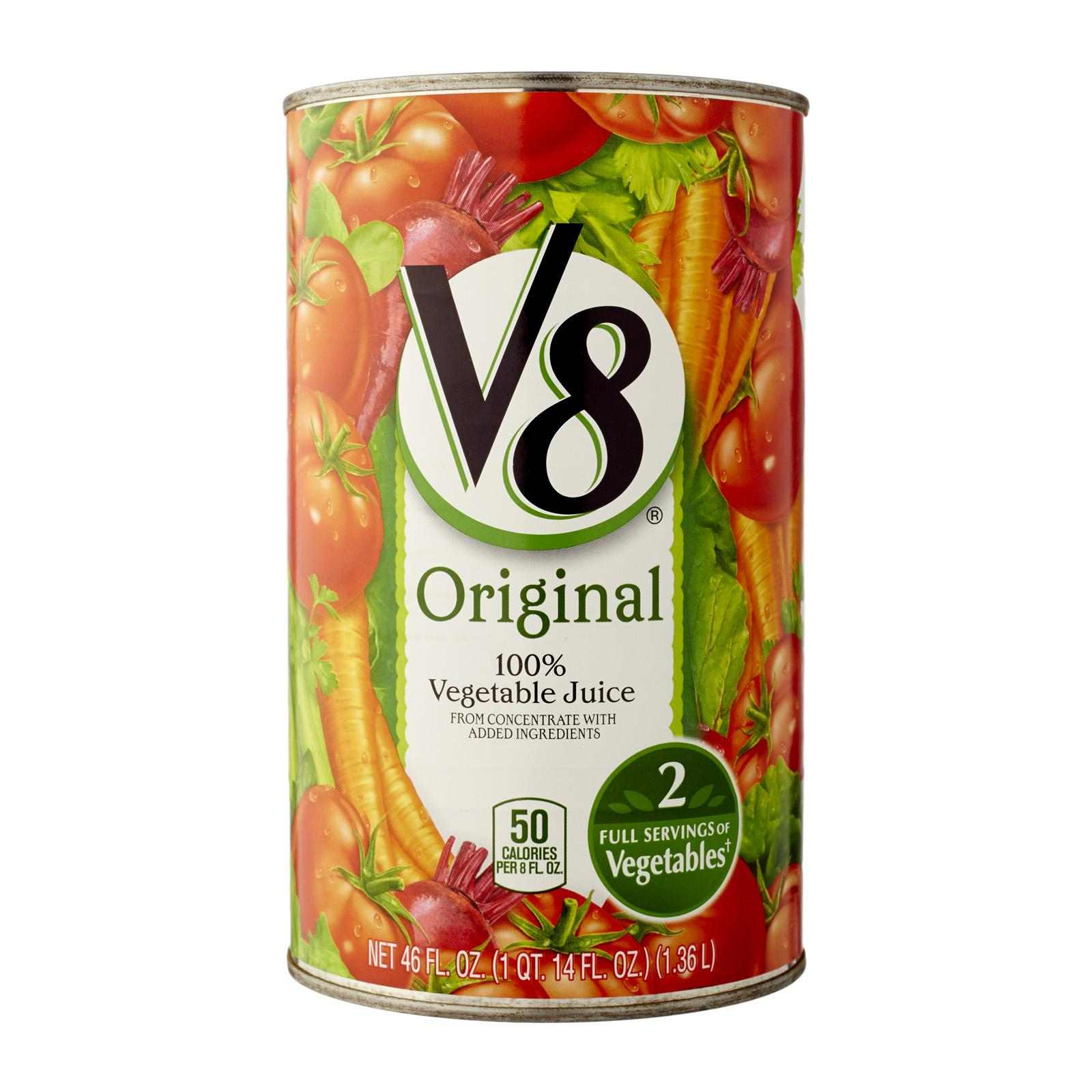 V8 100 % From Concentrate Vegetable Juice