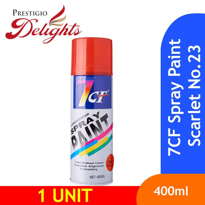 7CF Spray Paint Scarlet No.23 400ml