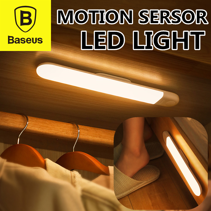 Baseus Sunshine Series Human Body Motion Sensor Induction Wardrobe Light Rechargeable Light Lamp