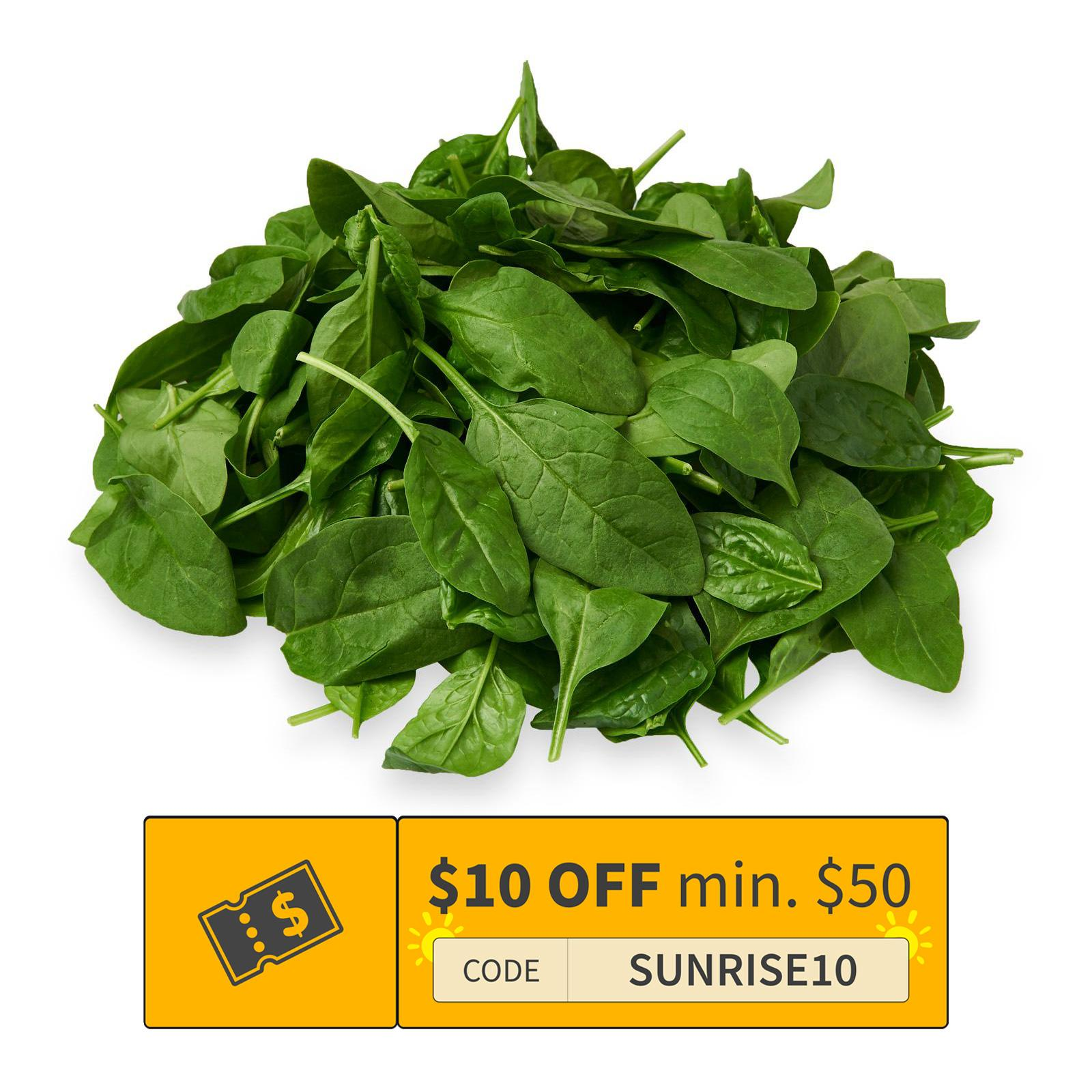 ITALY Selezione Baby Spinach Salad 125G