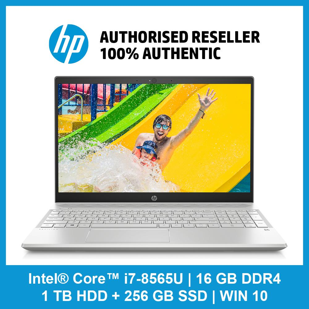 HP Pavilion 15-cs1039tx / i7-8565U / 16GB RAM / 1TB HDD + 256GB SSD / NVIDIA MX150