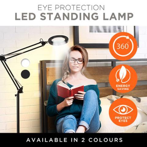 Eye Protection LED Standing Lamp / Energy Saving / 360° Rotation Angle Adjustable!