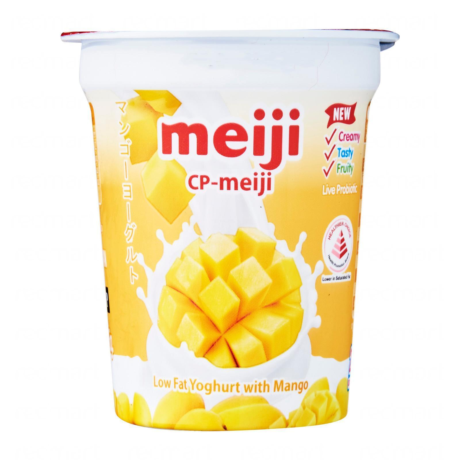 MEIJI Low Fat Mango Yogurt 140g