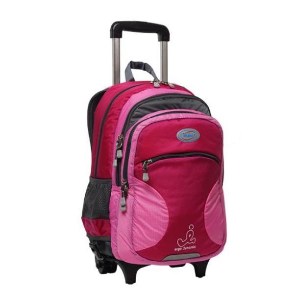IMPACT Children School Bags with Wheels Backpack Kid Bag Ergonomic School Bag Primary Educational Shoulders Junior Middle School Bags For Kids Backpack Ergo Detachable Trolley Backpack IP-383