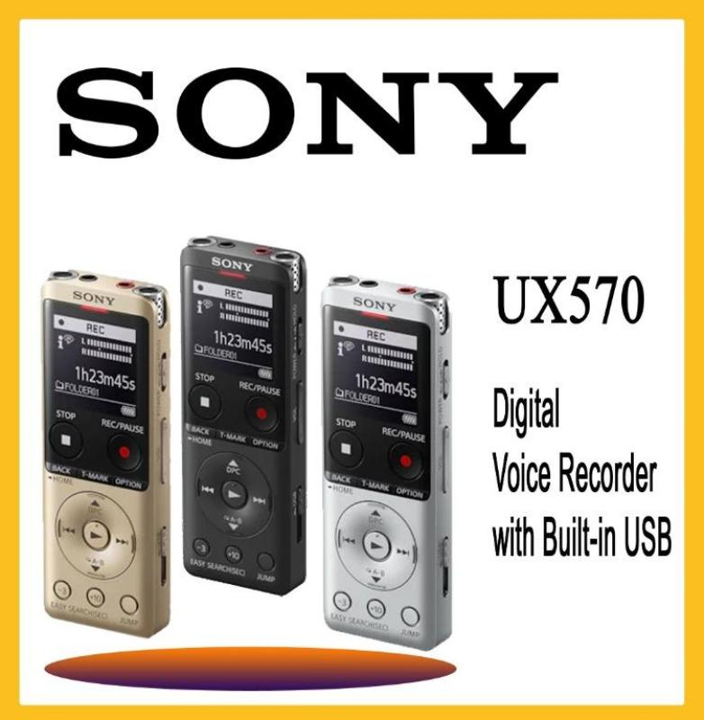SONY ICD-UX570F STEREP DIGITAL RECORDER with Noise Reduce + internal 4GB Memory (Support Micro SD Card) Singapore