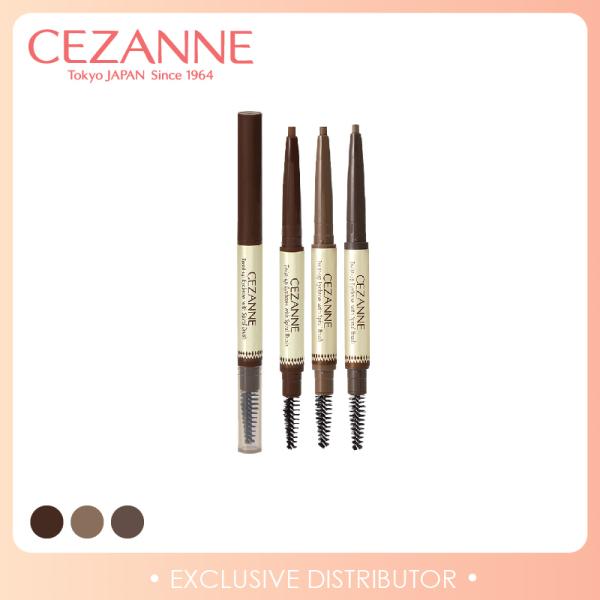 Buy [Cezanne] Twist-up Eyebrow with Spiral Brush Singapore