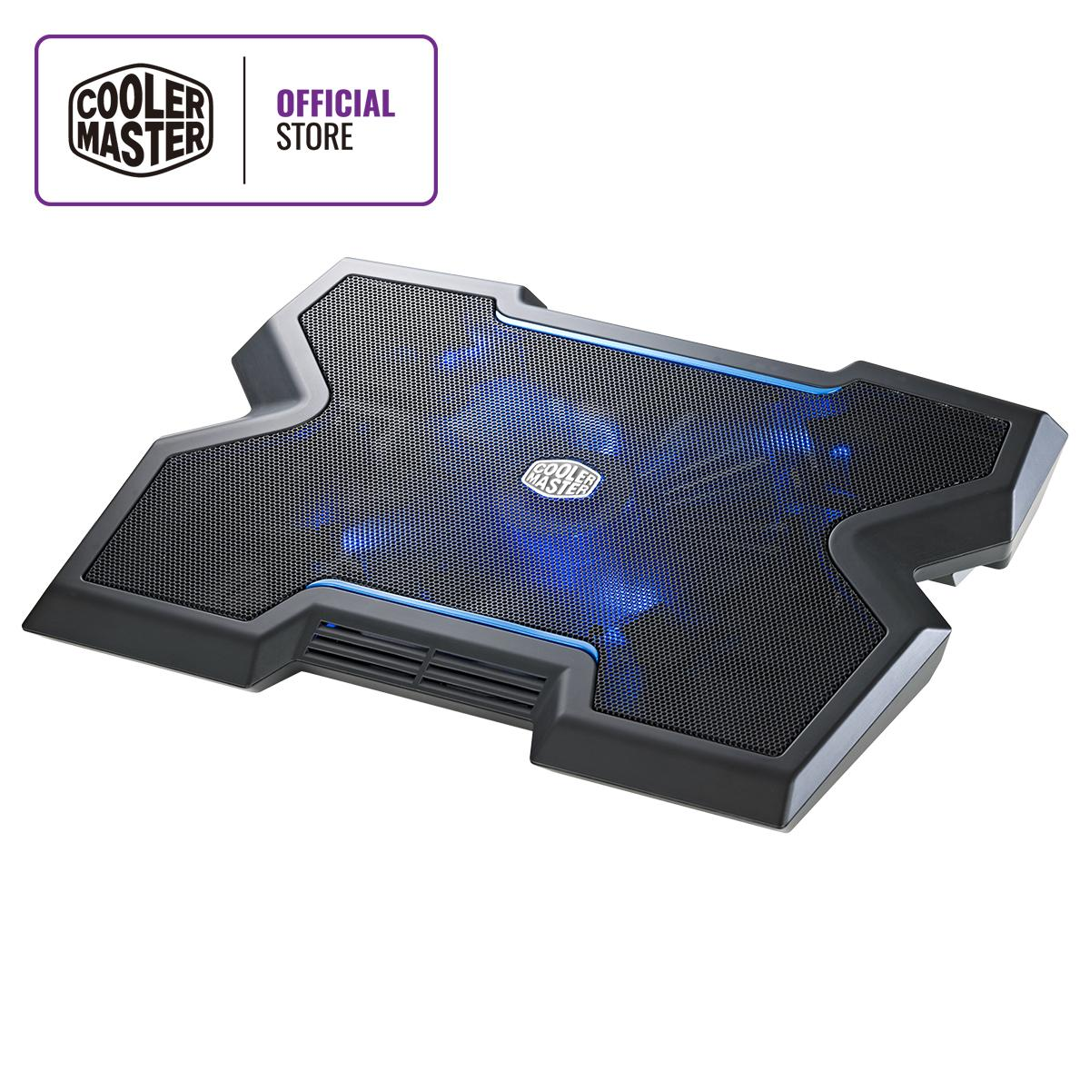 Cooler Master Notepal X3 200mm Blue Led Fan Gaming Notebook Cooler By Cooler Master Official Store.