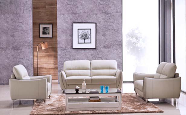 Gemini SFFAL555 Full Air Leather Sofa Set 1 Seater + 2 Seaters