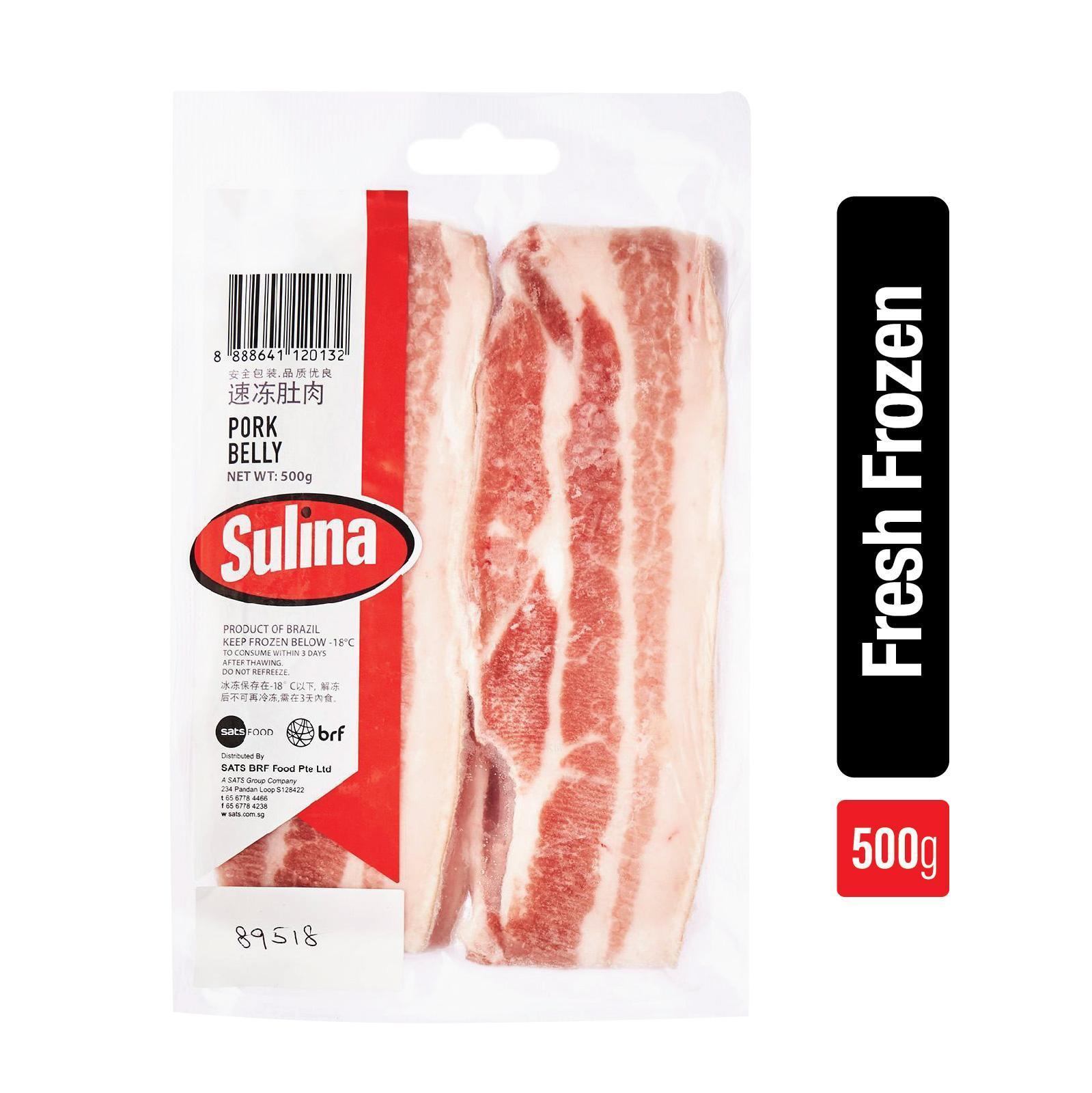 Sulina Pork Belly - Frozen