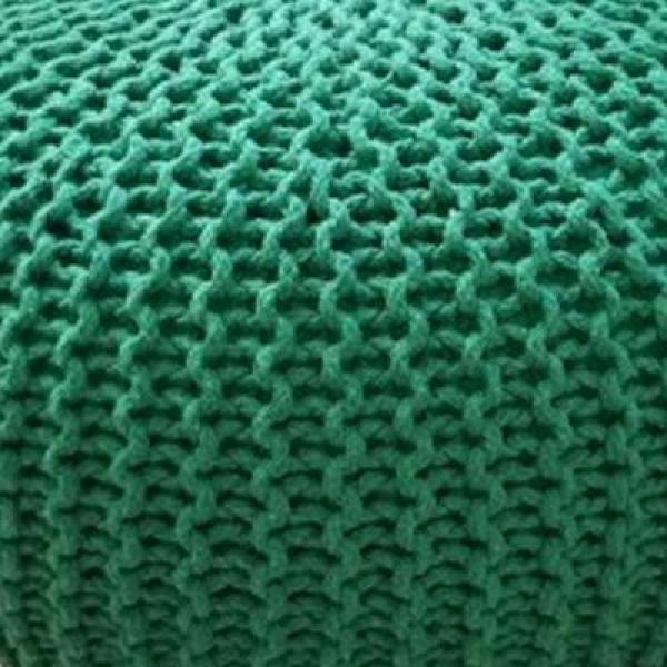 Washable Knitted Futon Peas Chair Nordic Minimalist Living Room Decoration Footstool Short Footstool Floor Bean Bag