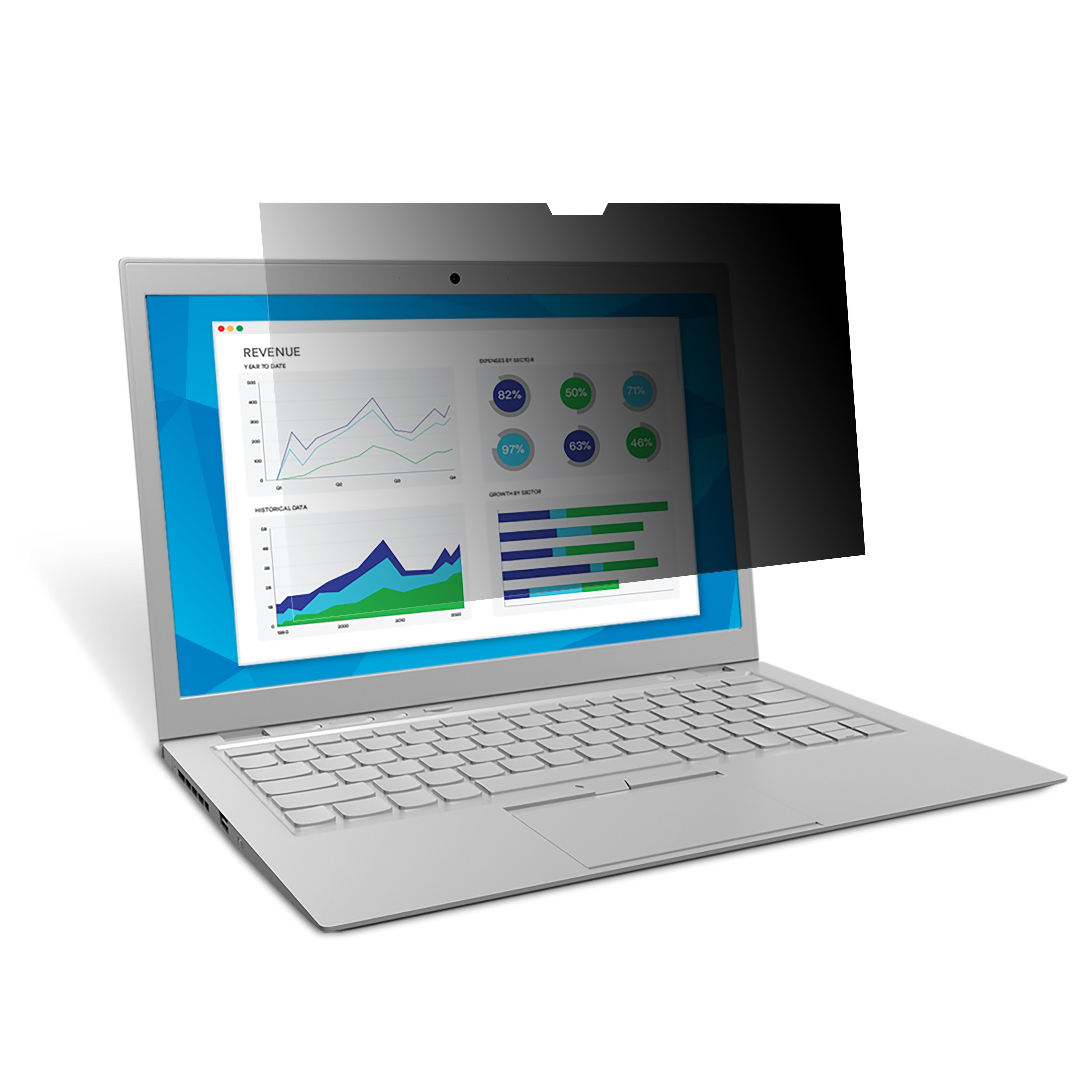 3M™ Privacy Filter for 12.3-inch Google™ Pixelbook (16:9) (PFNGG001) - 285 mm (W) x 209 mm (H)