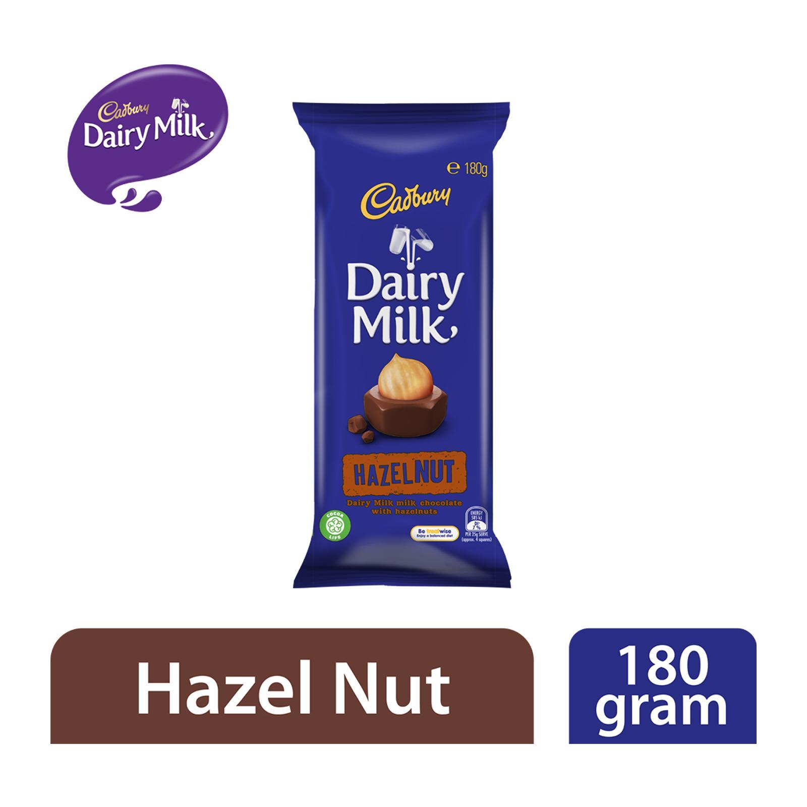 Cadbury Dairy Milk Hazelnut Milk Chocolate Block