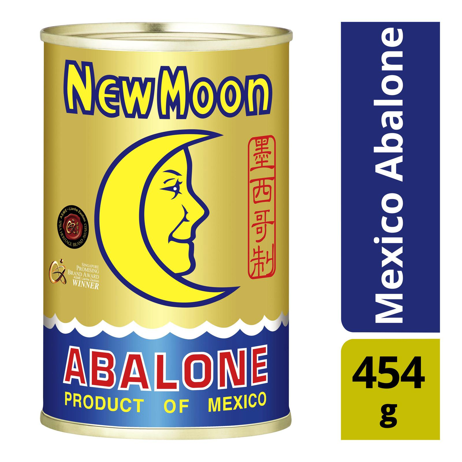 New Moon - Abalone Mexico - 454g - 3pcs By Best Buy Mini Mart.
