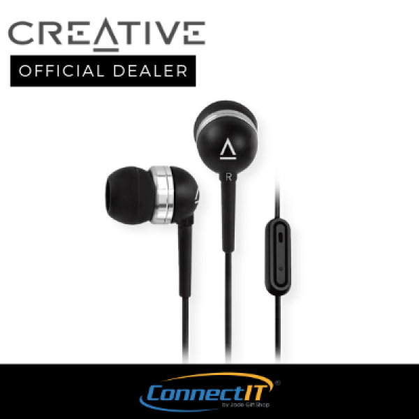 Creative Stereo Headset With Microphone For Calls and Music EP-630i. 1 Year Local Warranty Singapore