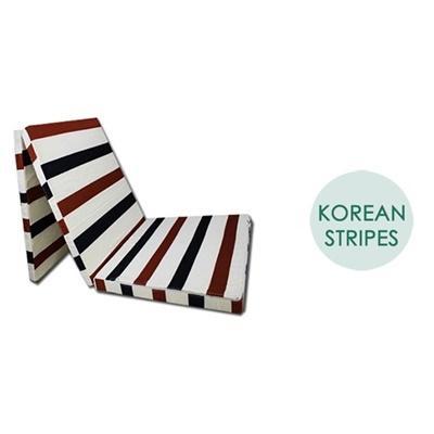 JIJI FOAMED Triple-Layer Foldable Mattress - ★Foldable Mattress ★Tri-Fold ★3-5 Inches ★4 Sizes! (SG)