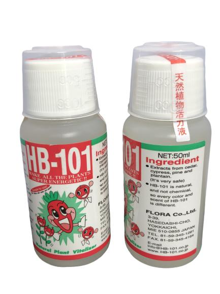 HB-101 HB101 Natural Plant Vitalizer Liquid 50ml / 100ml Concentrate ★JAPAN Import with English labels★