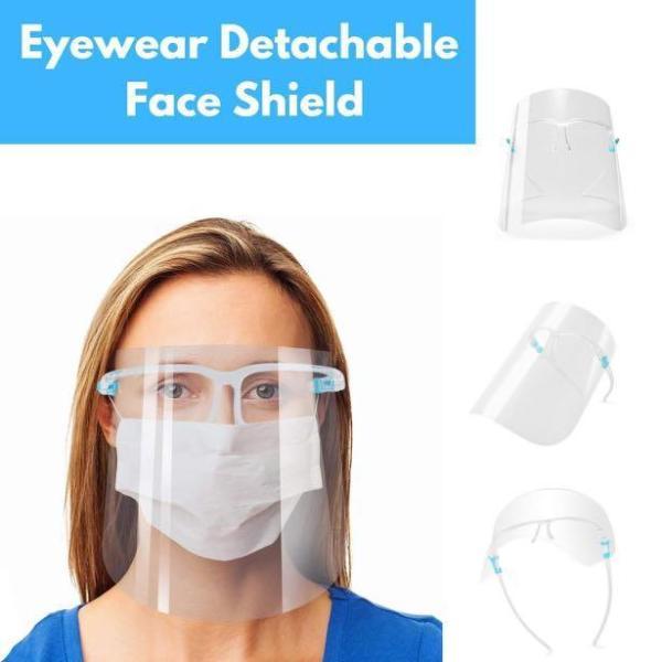 Buy Eyewear Detachable Face Shield [Bundle Of 5] Singapore