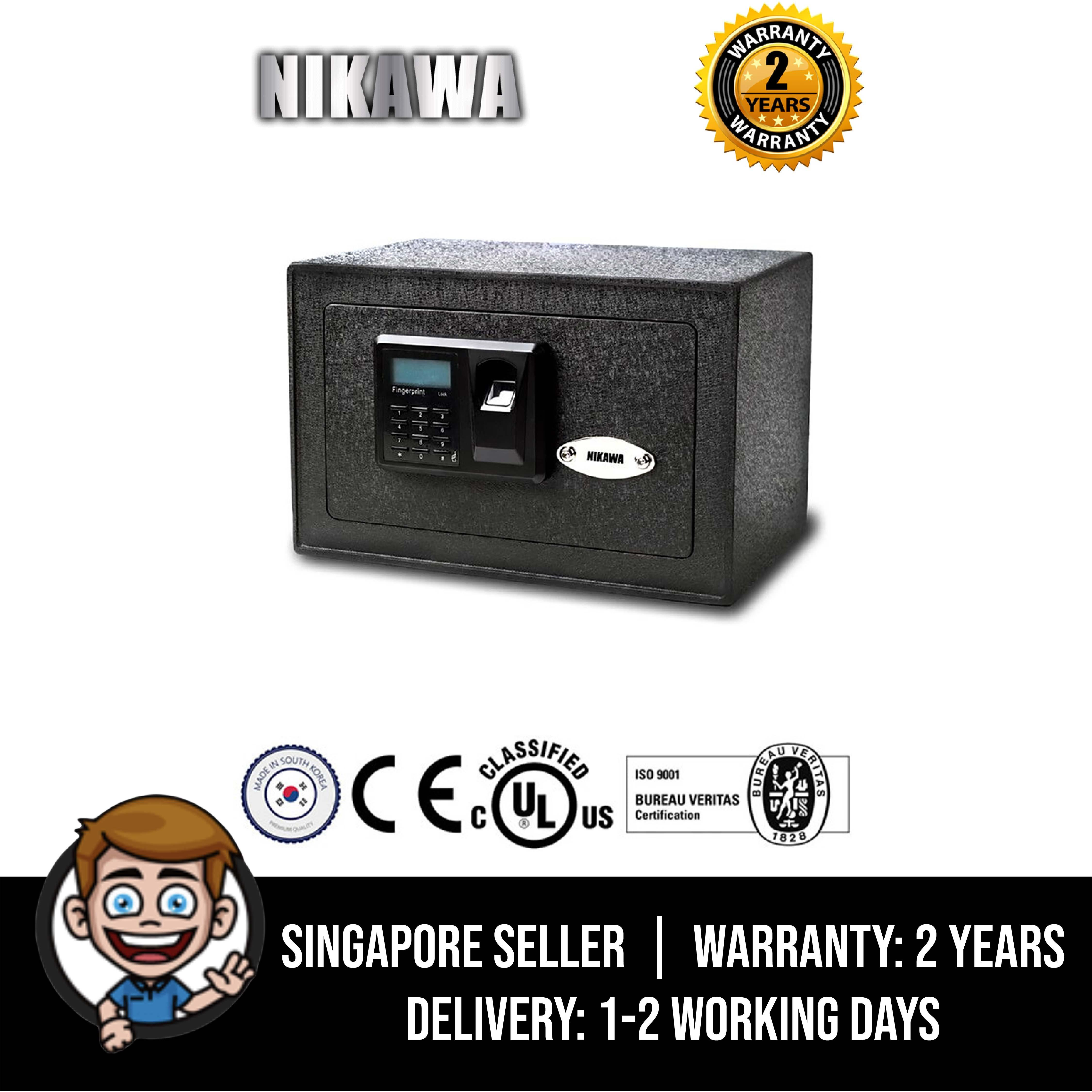Nikawa Fingerprint Safe 25FPD