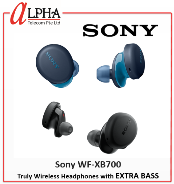 Sony WF-XB700 Truly Wireless Headphones with EXTRA BASS *Singapore warranty set* Singapore