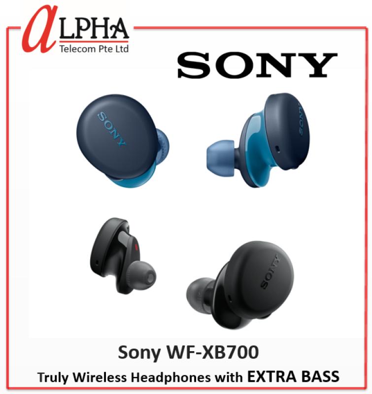 Sony WF-XB700 Truly Wireless Headphones with EXTRA BASS *Singapore warranty set* Singapore