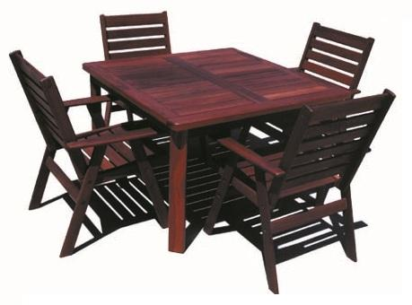Sheldon Pilbara Jarrah Solid Timber Outdoor Dining Table