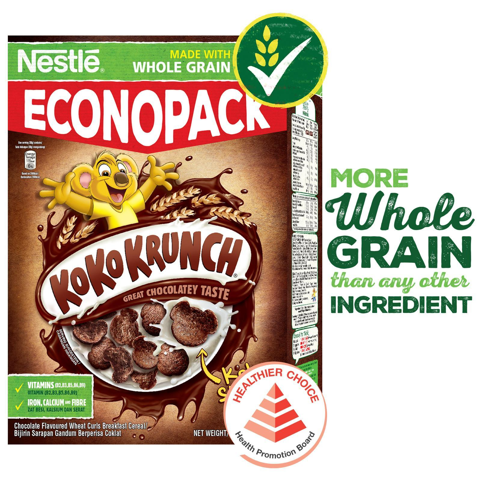 Nestle Koko Krunch Cereal With Whole Grain By Redmart.