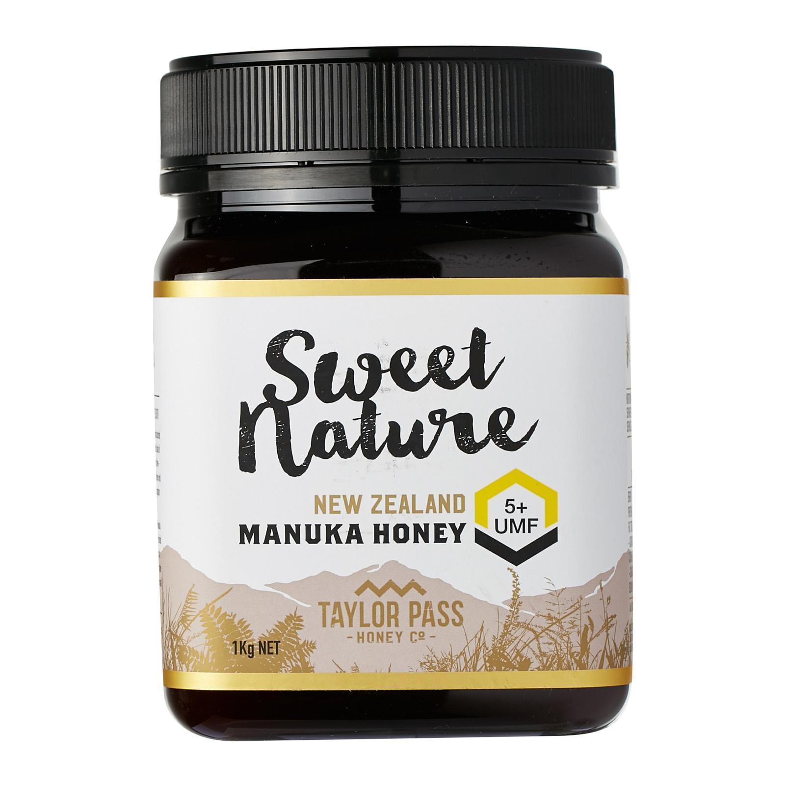 Sweet Nature UMF 5+ Manuka Honey - By Nature's Nutrition