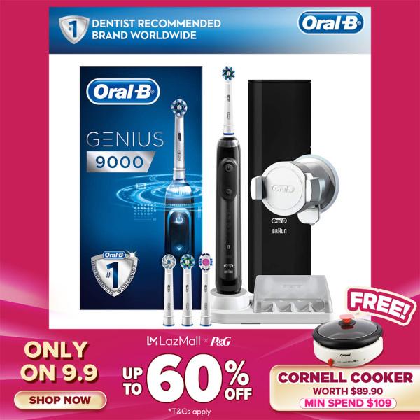 Buy Oral-B Genius 9000 Electric Toothbrush Black Singapore