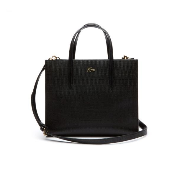 Womens Chantaco Dual Carry Piqué Leather Large Zip Tote