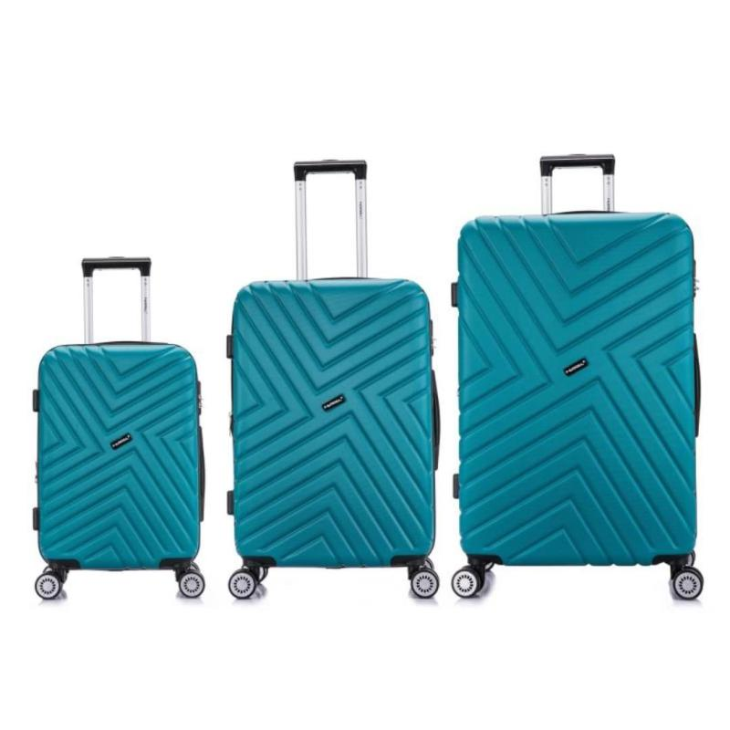 Wanderlust Luggage Geometric 20 Inch