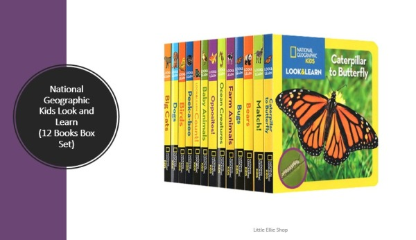[SG] National Geographic Kids Look and Learn Bookset