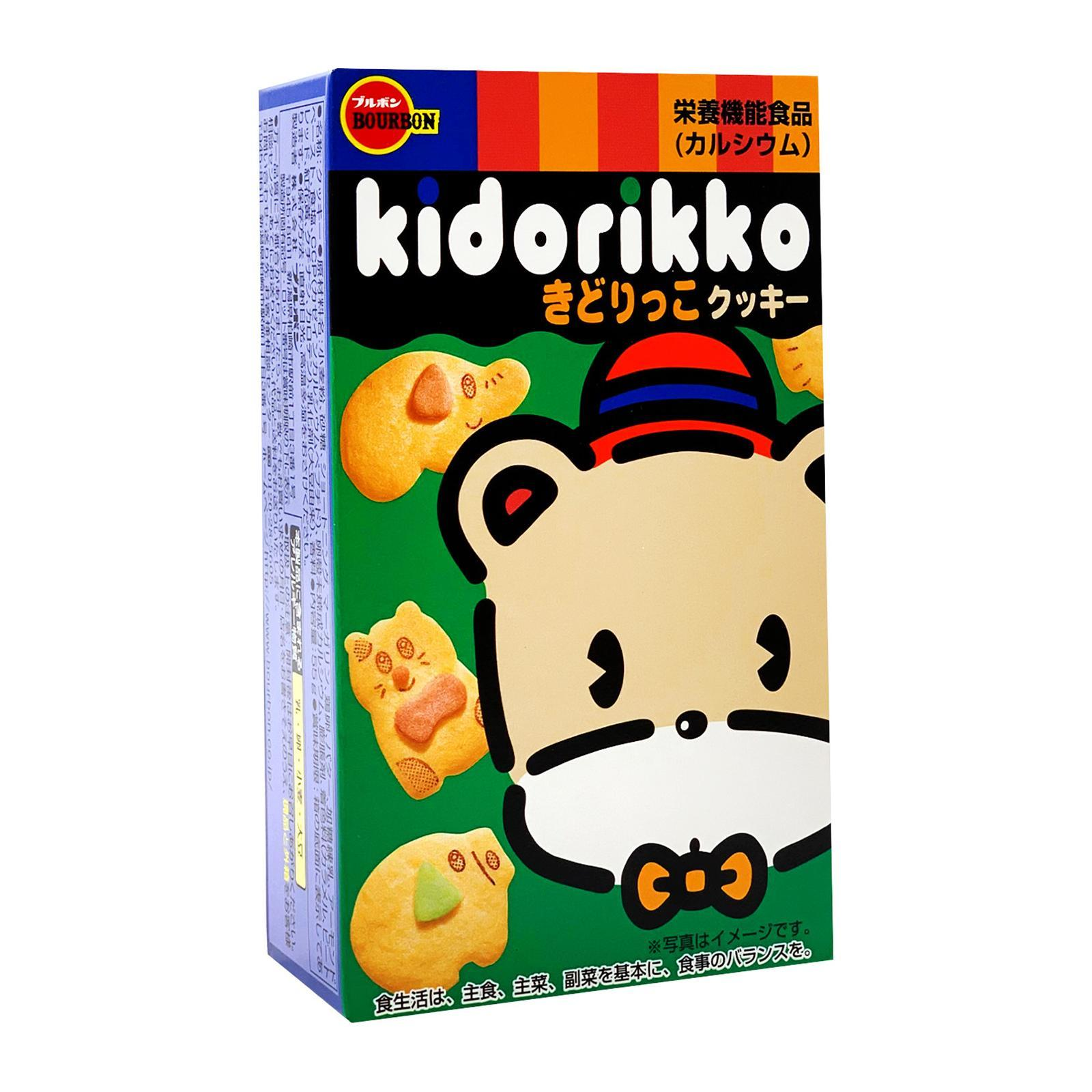 BOURBON Kidorikko Animal-Shaped Biscuits