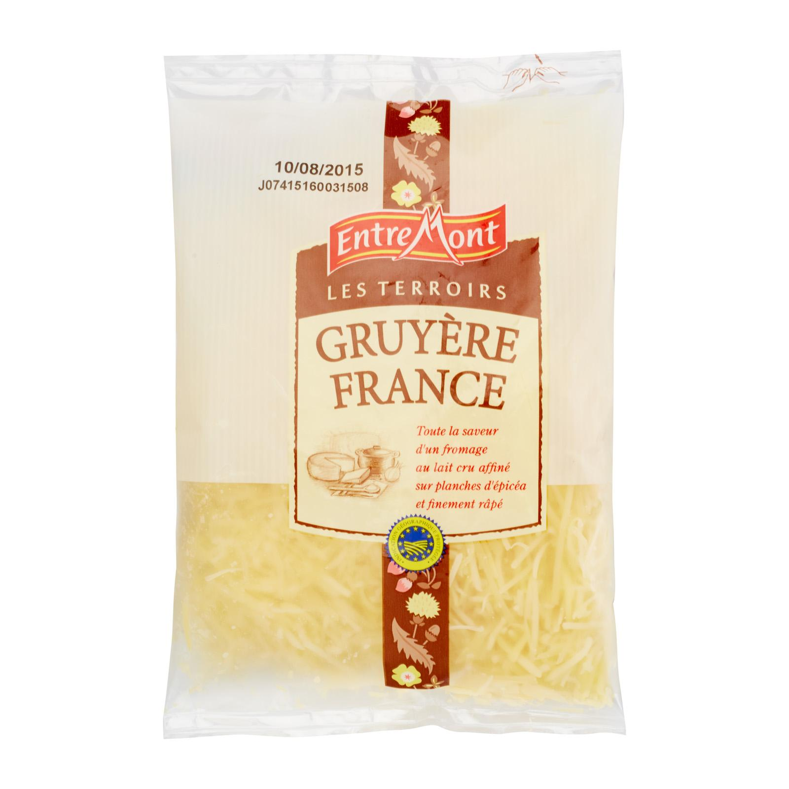 Entremont Gruyere Shredded Cheese