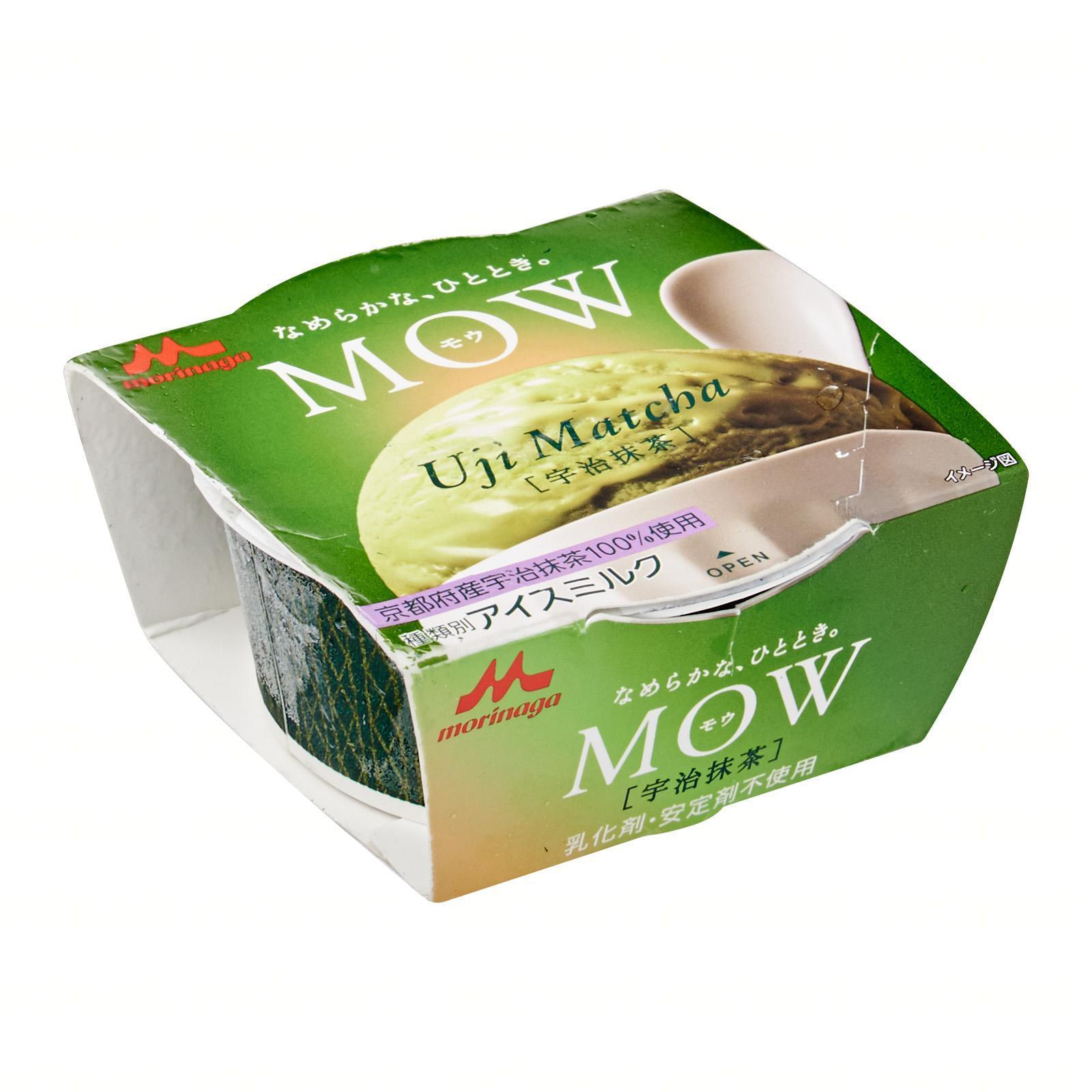 Morinaga Mow Cup Uji Matcha Green Tea Ice Cream - Frozen - Jetro Special