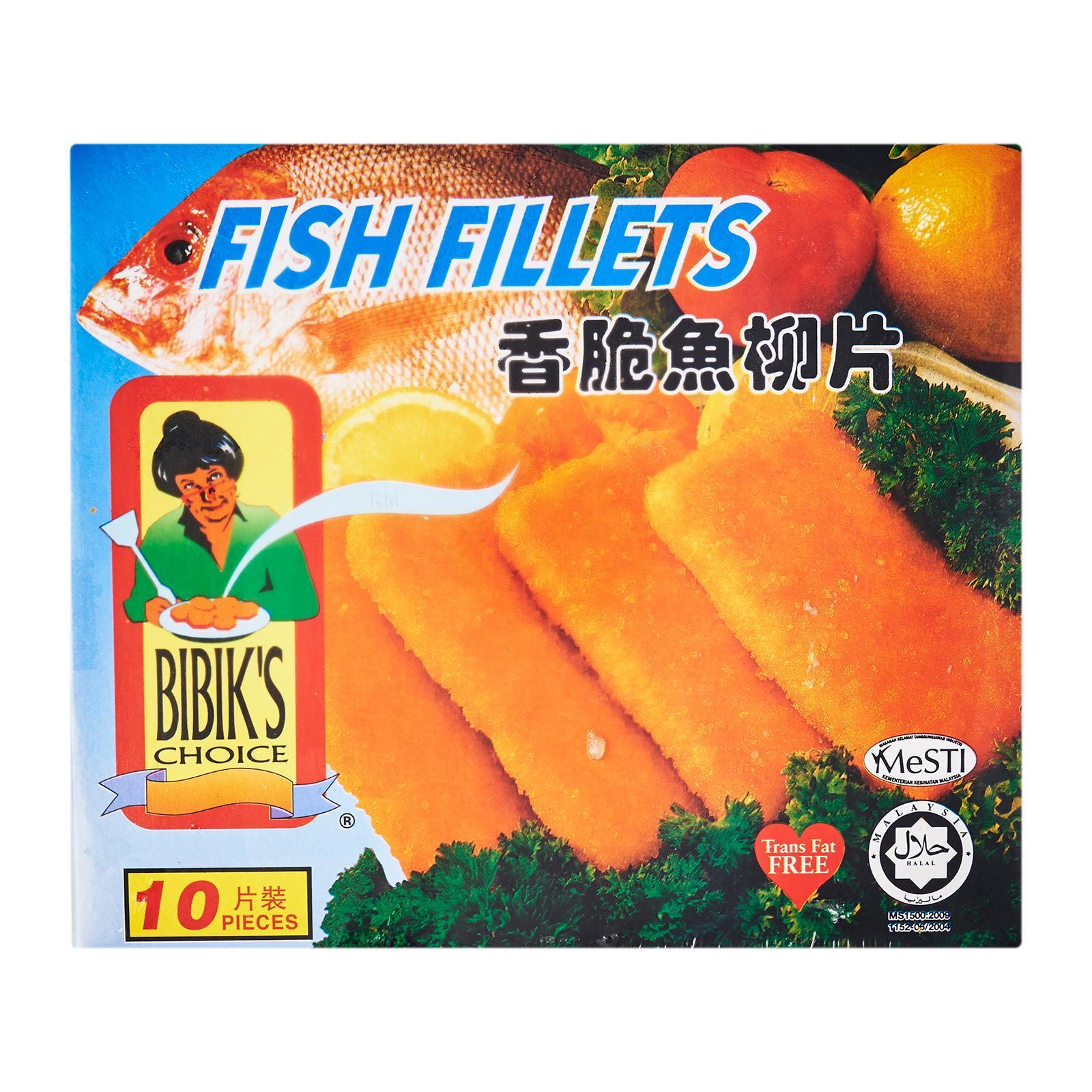 Bibik's Choice Fish Fillet (10 Pieces) - Frozen