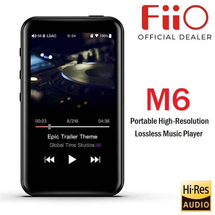 FiiO M6 Portable High-Resolution Lossless Music Player