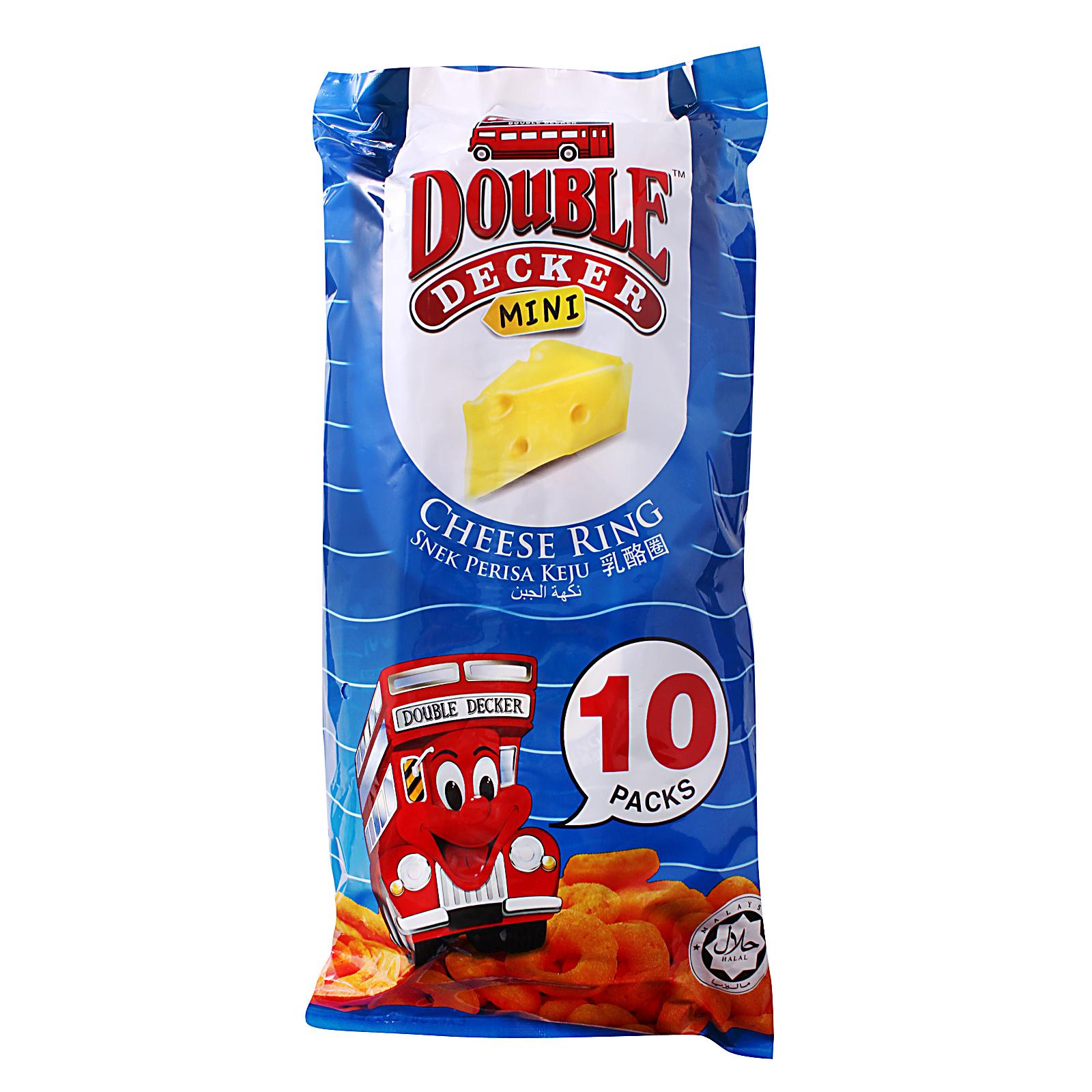 DOUBLE DECKER Mini Cheese Ring 10sX15g