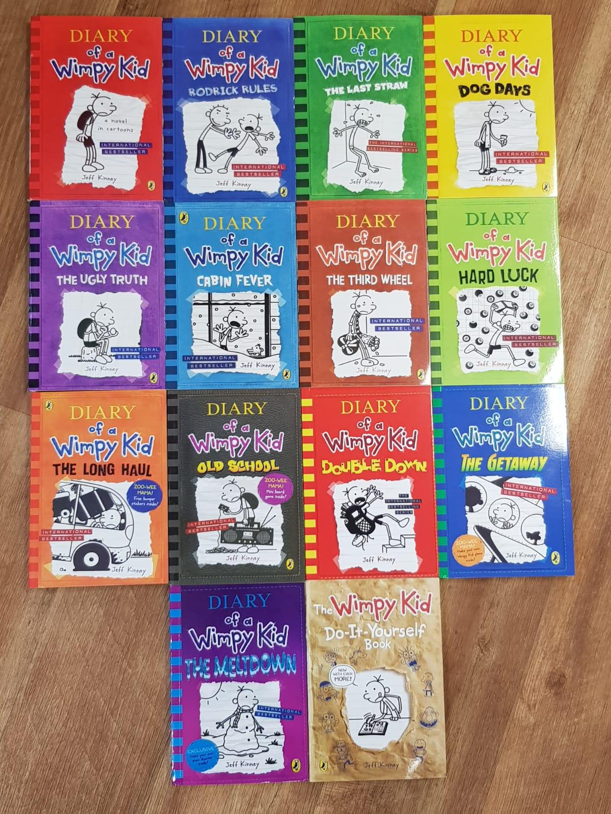 Diary of a Wimpy Kid - 14 Books