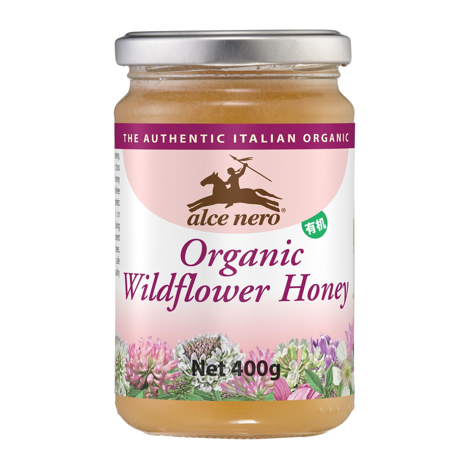 Alce Nero Organic Wildflower Honey