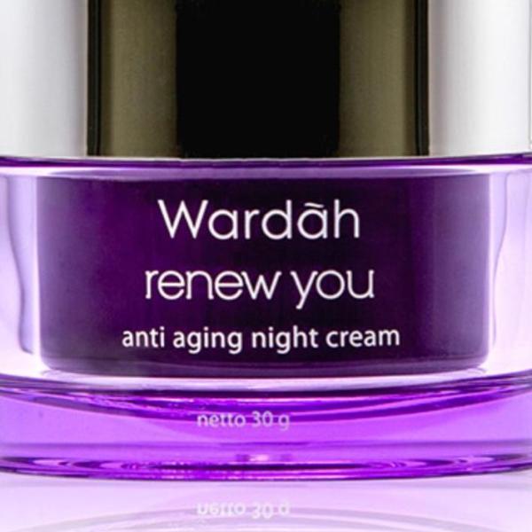 Buy Wardah Renew You Anti Aging Night Cream 30gr Singapore