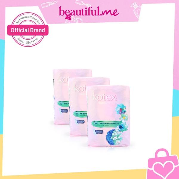 Buy Kotex Pads Adhesive Maternity 30cm 10pcs x 3 packs Singapore