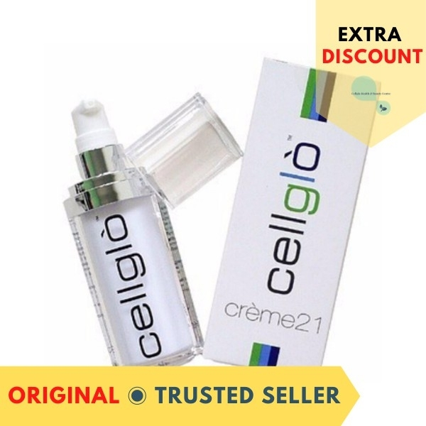 Buy [Trusted Seller] Cellglo Creme21 - 2 Pcs Set (With Bar Code 无割码) Singapore