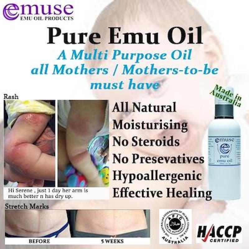 Buy Australia Emuse 100% Pure Emu Oil 250ml / HACCP and Halal Certified Singapore