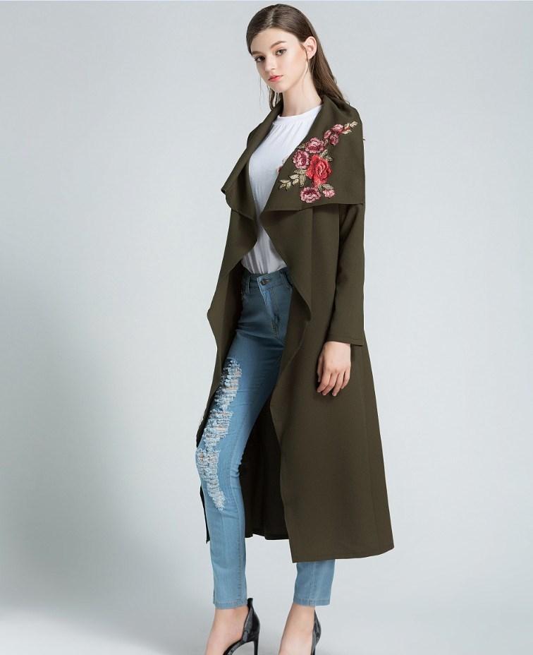8ed845bc2f3 2016 Summer Women Cardigan Long Coat Casual Jacket