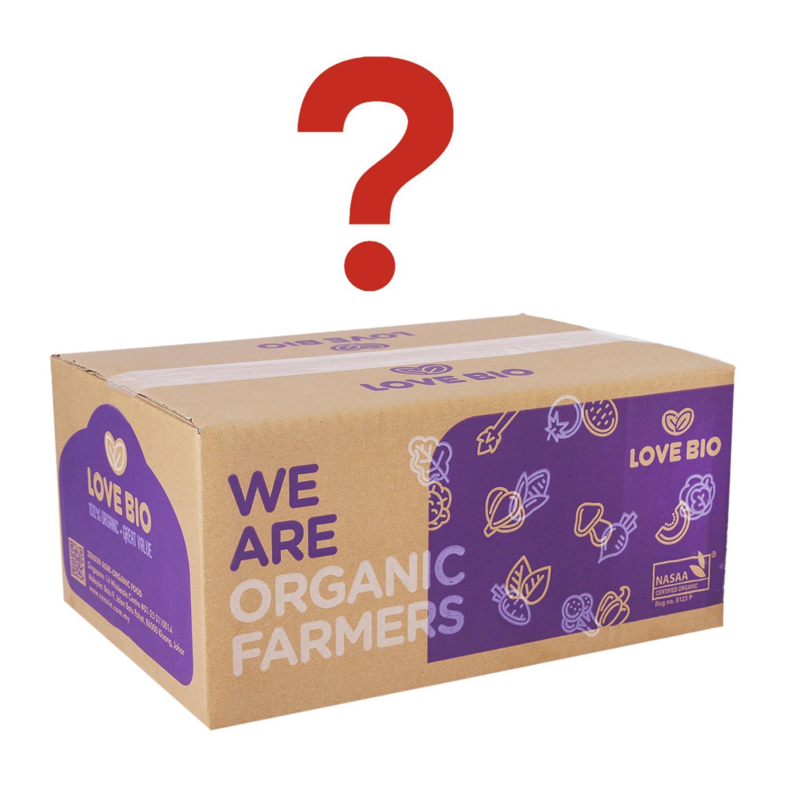 LOVE BIO Organic Mystery Box 2-3kg
