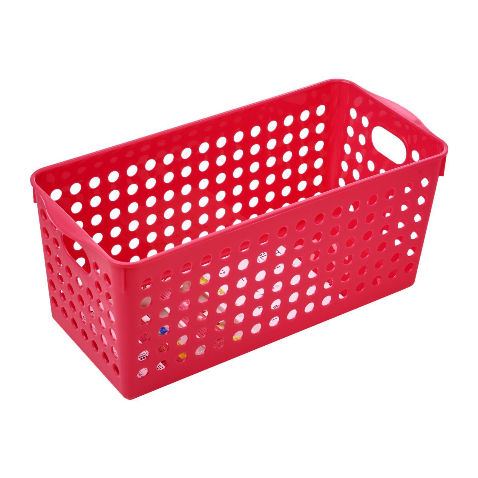 Inomata PP Storage Basket Slim/PNK