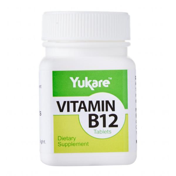 Buy [Bundle of 3] Yukare Vitamin B12 Tablets - By Medic Drugstore Singapore