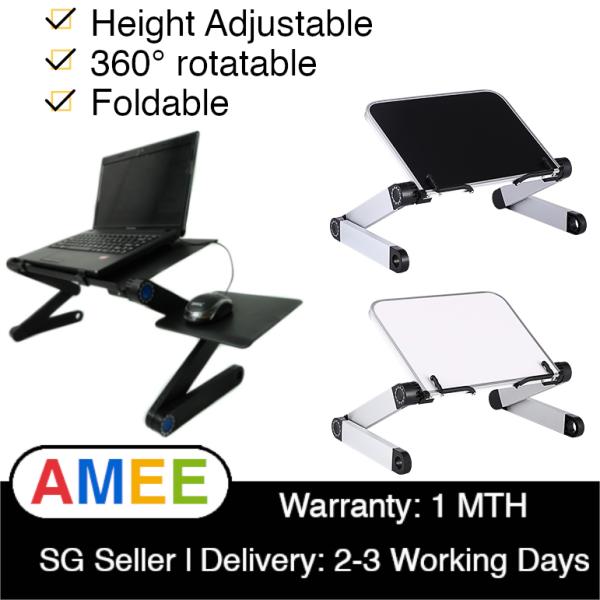 Adjustable Ergonomic Laptop Stand Laptop Desk for Bed Living Room Book Stand 360 Degree Adjustable Computer Table notebook desk notebook table