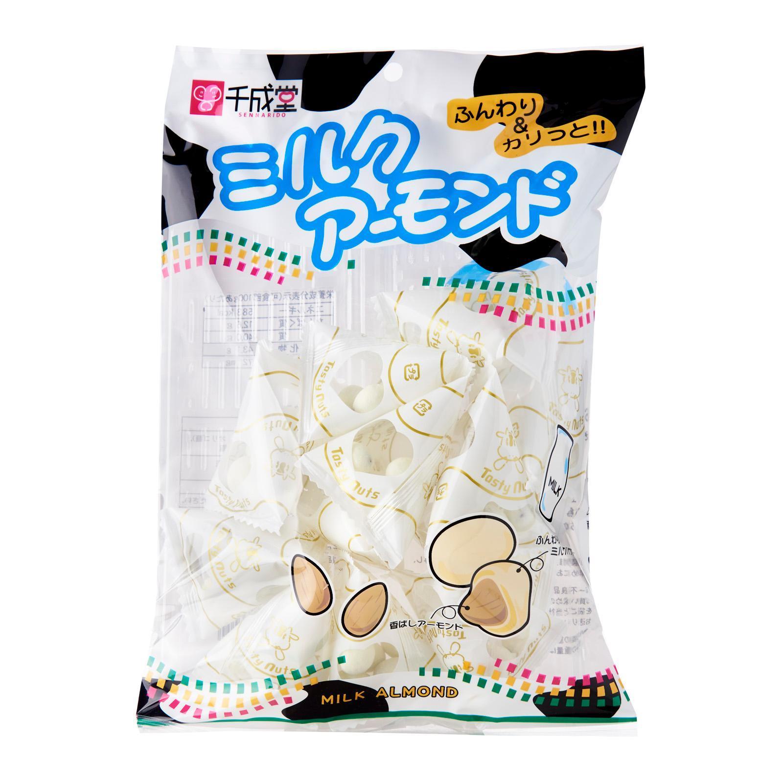 Sennarido Milk Almonds - Jetro Special